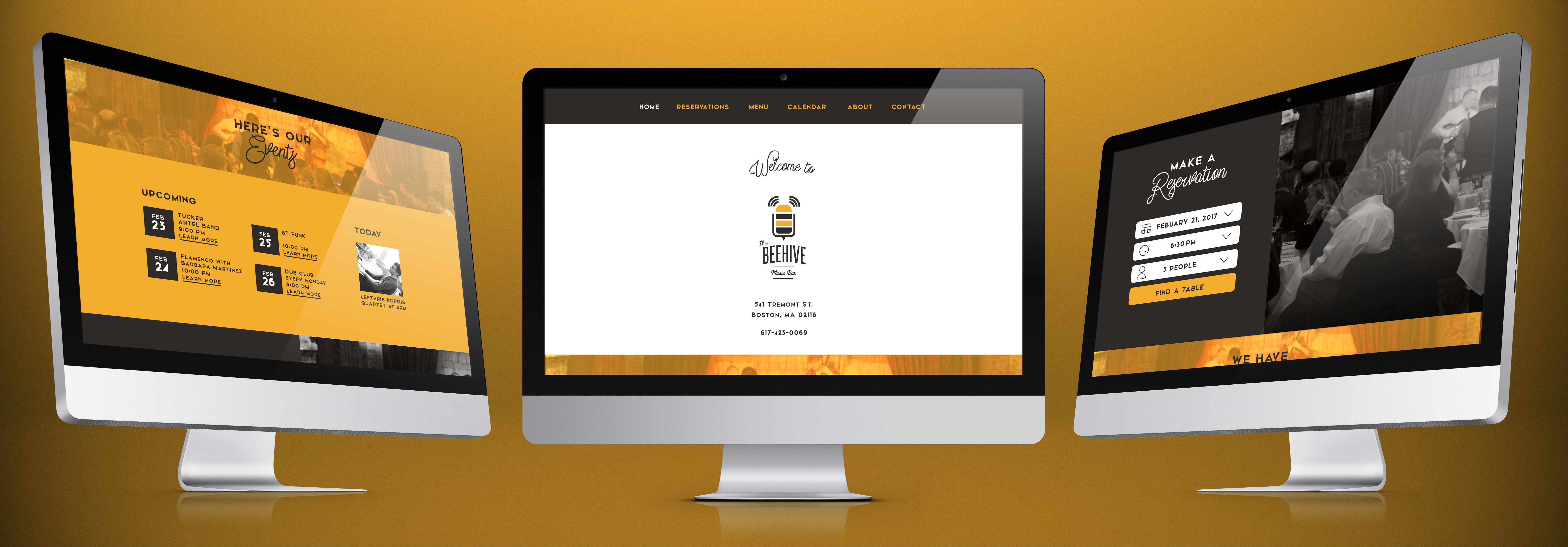 The website's main functions and purposes are to inform the customer about  The Beehive Music Bar, it's events and showtimes, and menu items and to  easily ...